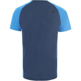 The North Face Ambition S/S Shirt Men, blue wing teal/clear lake blue